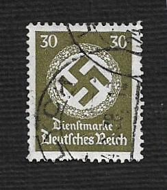 German Used Scott #O89 Catalog Value $1.50