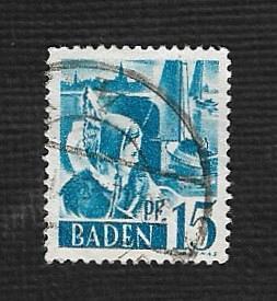 German Used Scott #5N19 Catalog Value $.60