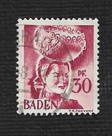 German Used Scott #5N23 Catalog Value $1.10