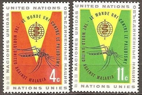[UN0102] UN NY: Sc. No. 102-103 (1962) MNH Full Set