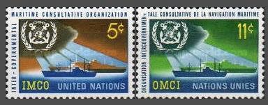 [UN0123] UN NY: Sc. No. 123-124 (1964) MNH Full Set