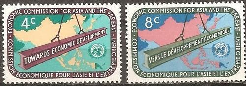 [UN0079] UN NY: Sc. No. 79-80 (1960) MNH Full Set