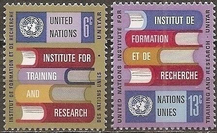 [UN0192] UN NY: Sc. No. 192-193 (1969) MNH Full Set