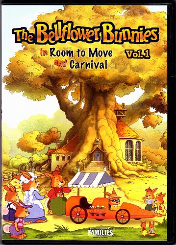 Bellflower Bunnies - Room to Move and Carnival DVD 2003 - Very Good