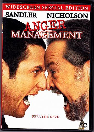 Anger Management DVD 2003 Widescreen - Very Good