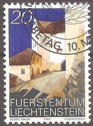 [LI0832] Liechtenstein: Sc. No. 832 (1986-1989) Cancelled