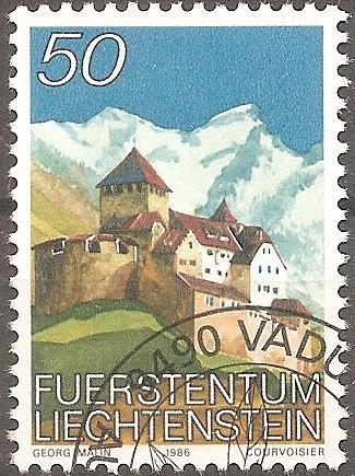 [LI0835] Liechtenstein: Sc. No. 835 (1986-1989) Cancelled