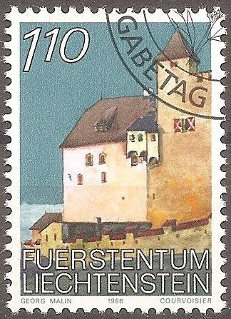 [LI0840] Liechtenstein: Sc. No. 840 (1986-1989) Cancelled