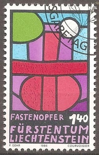[LI0843] Liechtenstein: Sc. No. 843 (1986) Cancelled Single