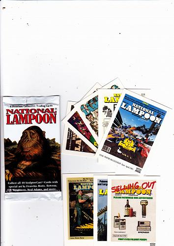 National Lampoon - Trading Card Pack Factory Sealed