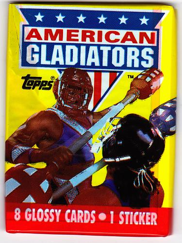 American Gladiators 1991 Nonsports Cards Factory Sealed Pack