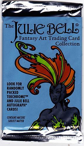 Julie Bell Fantasy Art 1994 Trading Cards Factory Sealed Pack