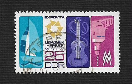 Germany DDR Used Scott #1486 Catalog Value $.25