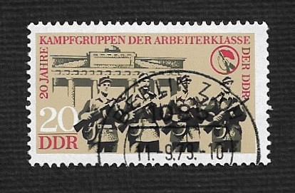 Germany DDR Used Scott #1488 Catalog Value $.25