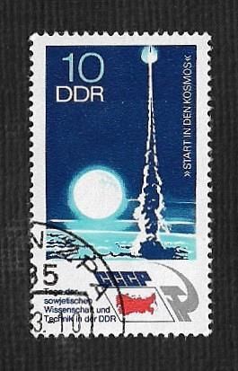 Germany DDR Used Scott #1494 Catalog Value $.25