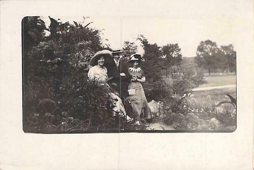Harry Charles Girls per reverse Real Photo RPPC Vintage Postcard