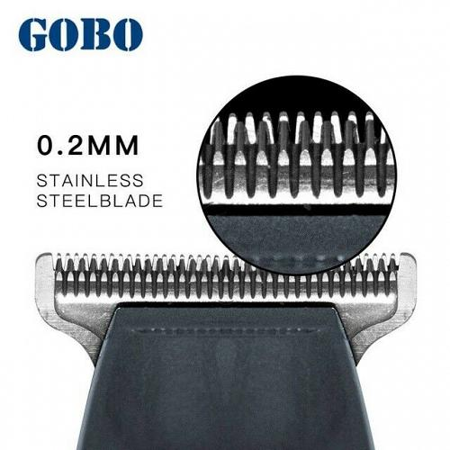 GOBO Golden with LCD Professional hair clipper Beard Electric hair trimmer