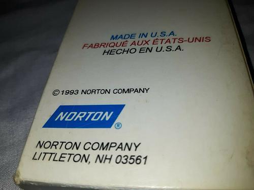 Antique Vintage Norton Sharpening Stone (FINE) 11 1/2IN AMERICAN MADE, **EUC**