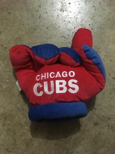 Chicago Cubs Stuffed Plush Finger Glove Baseball Forever Collectibles