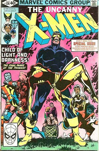 X-men #136 PHOENIX (Uncanny) VF+ range John Byrne 1st Series & Print 1979
