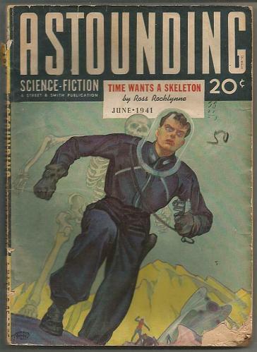 Astounding Science-Fiction June 1941 Pulp Magazine 1st print & series