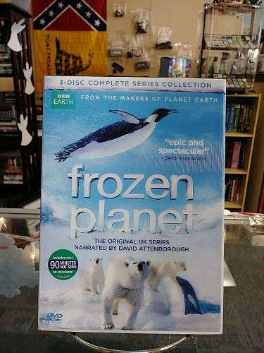 Frozen Planet: The Complete Series (DVD, 2012, 3-Disc Set)