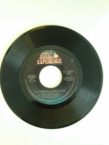 the gap band rare 45rpm you dropped a bomb on me vg++