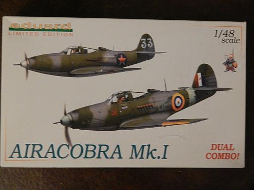 Eduard 1/48, High Grade Limited Edition Dual Combo P-39 L/M Airacobra MTO NIOB