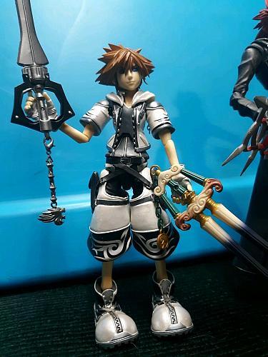 Play Arts Action Figures Kingdom Hearts - Kairi, Sora, Roxas Collectable EUC