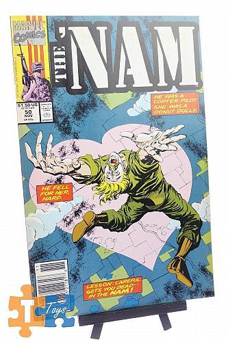 Comic Book The Nam #50 Marvel November 1990