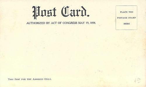 President McKinley's Train Special Crossing, Boone Iowa 1901 Vintage Postcard