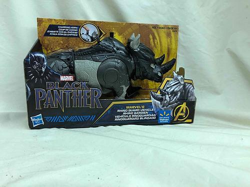Action Figure Black Panther Rhino Guard Hasbro 2018