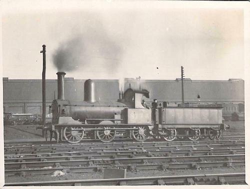 Engine 8174, L.&M.W.S. English Railway, Real Photo RPPC Vintage Postcard