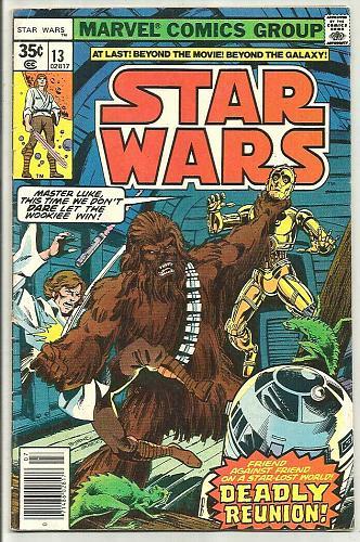 Star Wars #13 Marvel Comics 1st print & series Goodwin/Infantino/Austin VG+ 1978