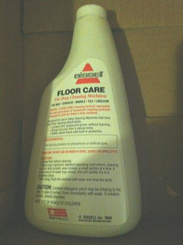 Bissell 16 Oz Floor Care Carpet Cleaning Formula Concentrate by Bissell