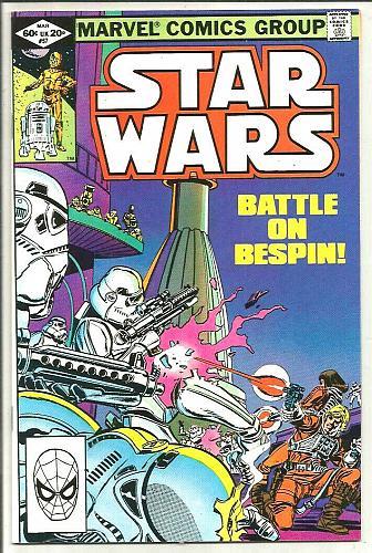 Star Wars #57 Marvel Comics 1st print & series Walter Simonson 1982 Palmer