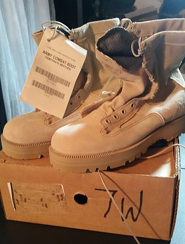 BNIB Wellco Temperate US Army Combat Boot 7W Waterproof Breathable Unisex NEW