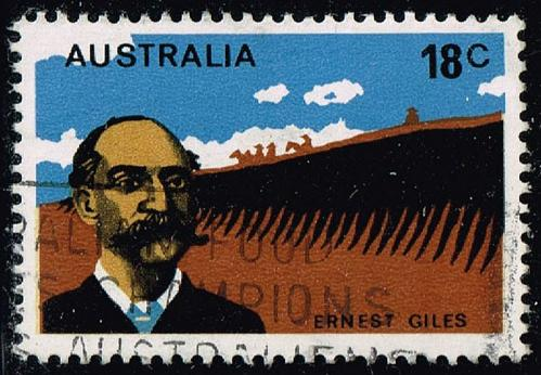 Australia #633 Ernest Giles; Used (0.25) (4Stars) |AUS0633-03XBC