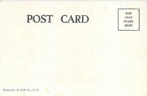 Interesting Train Wreck and Sunday School Request Vintage Postcard