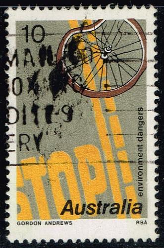 Australia #608 Road Safety; Used (0.45) (2Stars)  AUS0608-02XBC