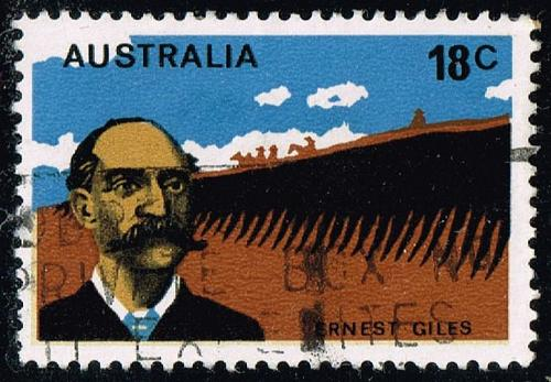Australia #633 Ernest Giles; Used (0.25) (3Stars) |AUS0633-02XBC