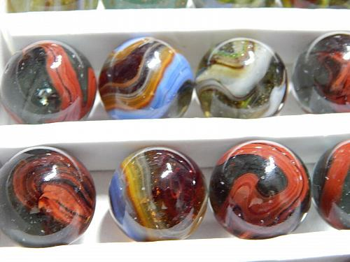 D.A.S. Comanche Moon Marbles - Run Date of February 14, 2018 Display Set of 36