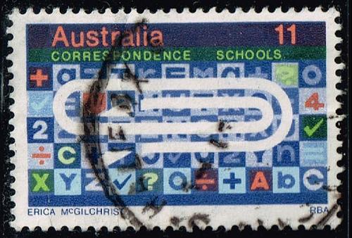 Australia #603 Correspondence Schools; Used (0.25) (3Stars) |AUS0603-02XBC