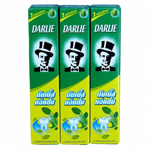 Darlie Double Action Toothpaste Spearmint and Peppermint 35g Pack of 3