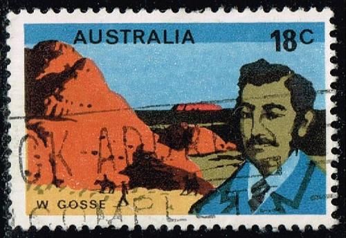 Australia #635 William Gosse; Used (0.25) (2Stars)  AUS0635-02XBC