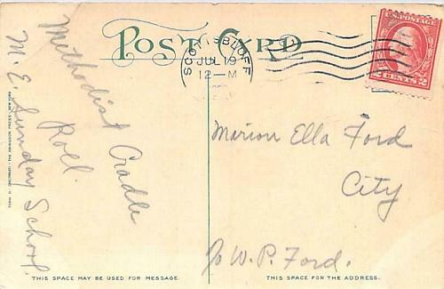 Second Birthday Greeting, Member of the Cradle Roll Art Signed Vintage Postcard