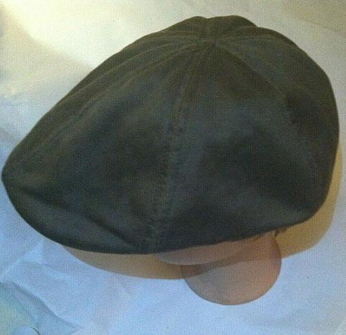 Stetson Sun Guard Duck Ivy Flat Cap Cap Hat Cap Texas 23 Brown Cotton/Polyester