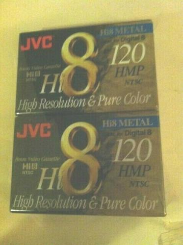 JVC Hi8 METAL 120 HMP 8 MM VIDEO CASSETTE