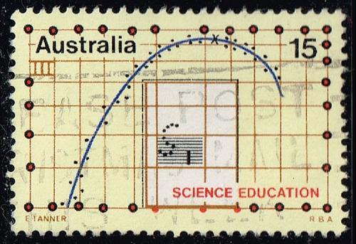 Australia #604 Science Education; Used (0.30) (4Stars) |AUS0604-02XBC