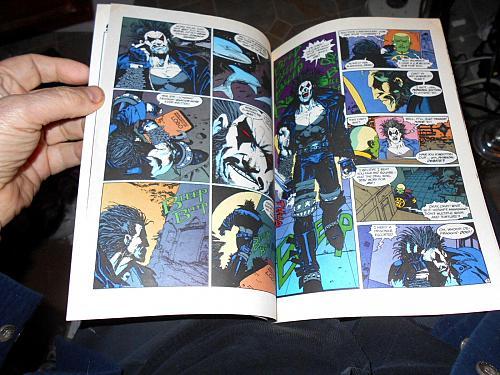 LOBO #1 VF Keith GIFFIN, GRANT, BISLEY DC Comic Book 1990